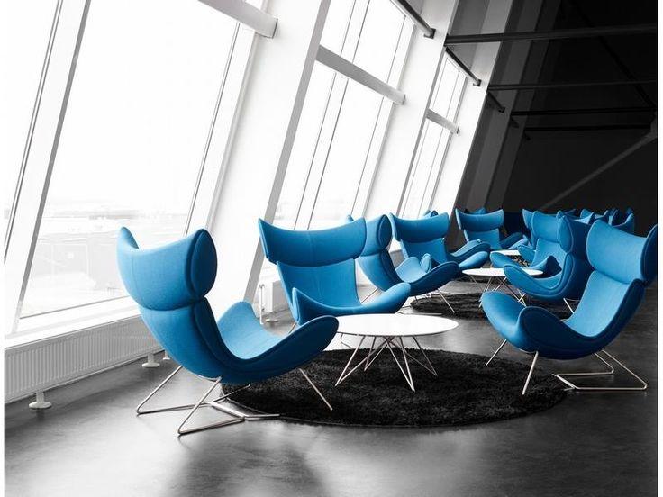 Imola - blue designer armchairs Sydney