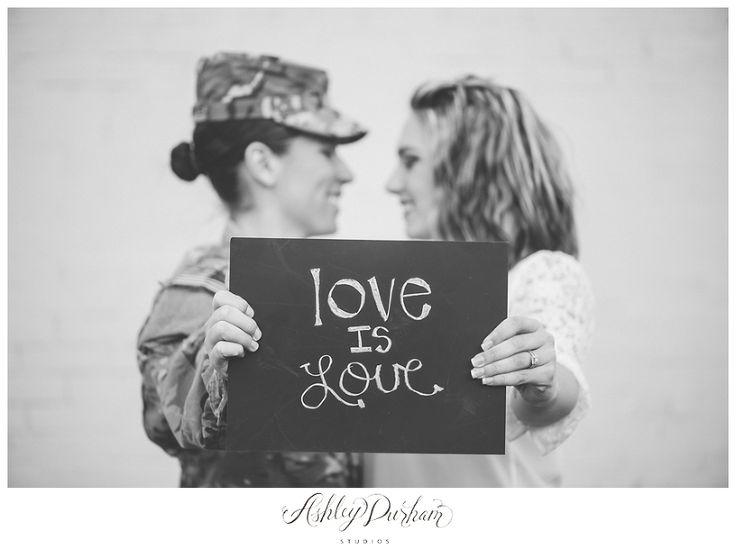 same sex engagement session, lesbian engagement session, military engagement session, same sex military, love is love