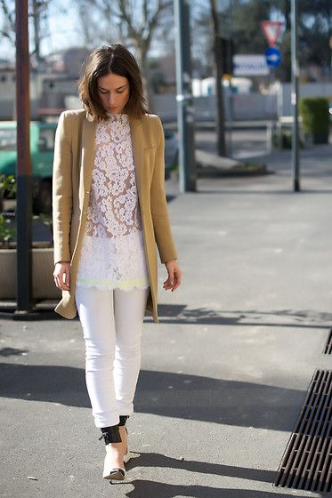 """""""White lace"""" by Erika Boldrin on LOOKBOOK.nu"""