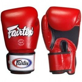 Fairtex BGV1 Muay Thai Gloves (14oz) -Bag Gloves perfect for bag and pad work * Wrap around hook and loop wristband for greater comfort & support *