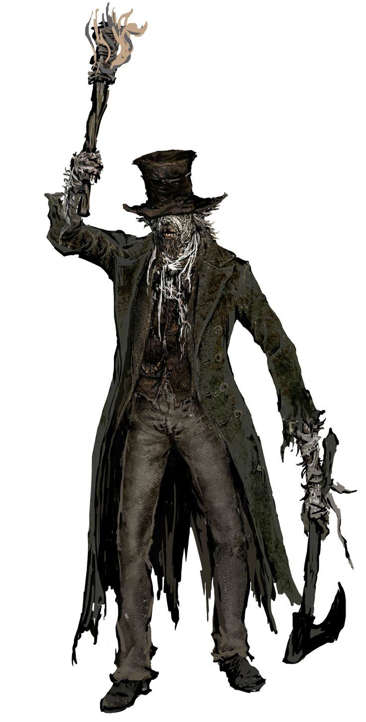 Bloodborne Concept Art - Plague Mob | The Art Of Video ...