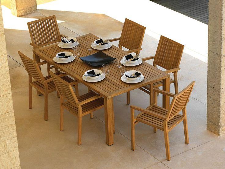 M s de 25 ideas incre bles sobre mesa de teca en pinterest - Mesa de teca ...