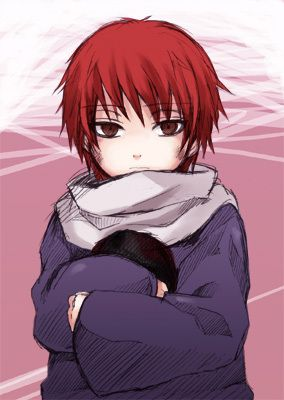 Sasori as a child.  So Kawaii!!!!!!!!