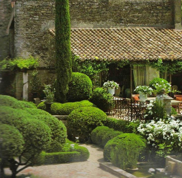 rustici case ville giardini Tuin