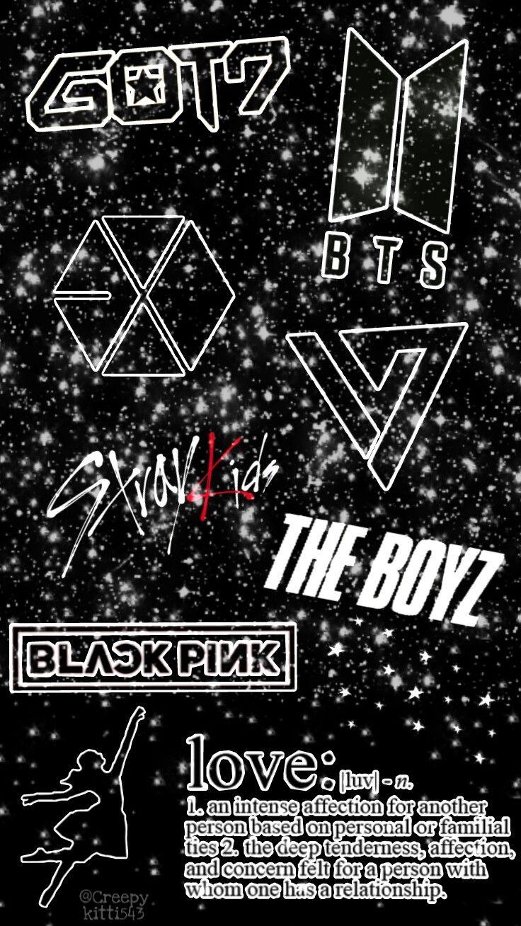 Bts Straykids Theboyz Blackpink Got7 Exo Seventeen Wallpaper