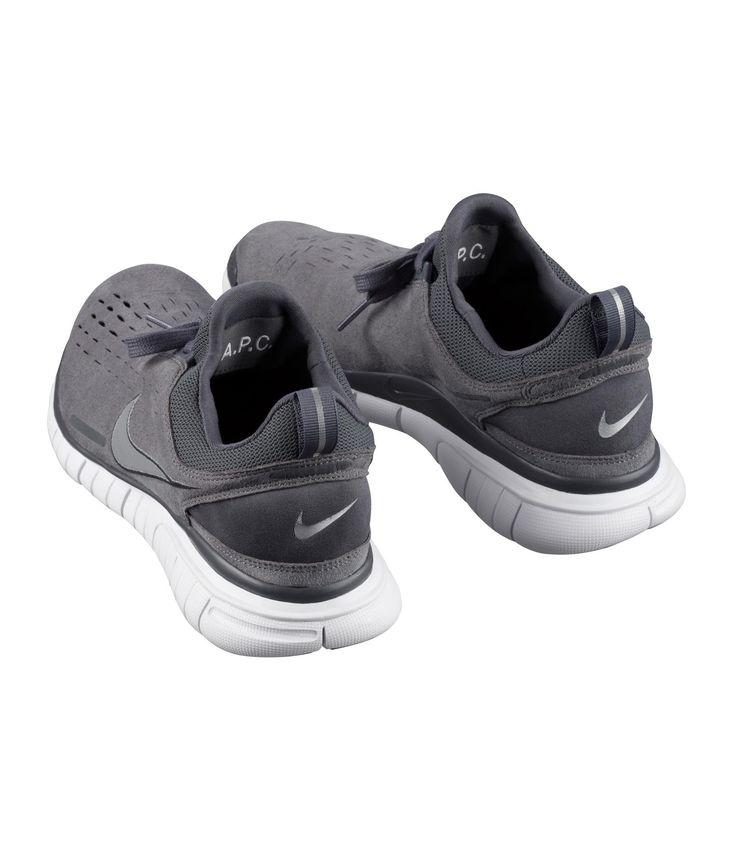 Men's Nike x A.P.C. Free OG 14 SP Wolf Grey White Sneakers : G68f6370