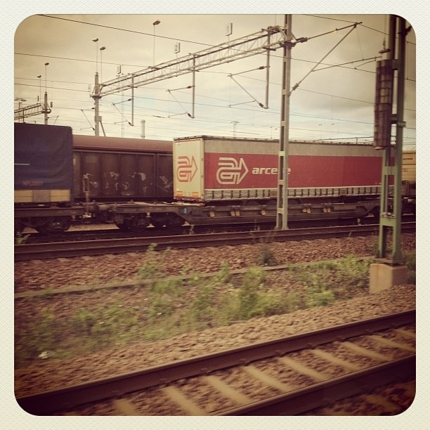 Train yard in Malmö