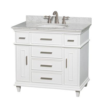 This one includes the vanity top with it.