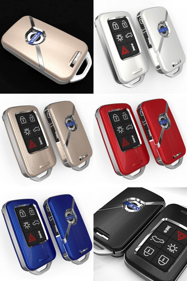 [Visit to Buy] ABS smart remote key case ring shell holder cover for volvo xc60 S60 V40 V60 S80 XC70 #Advertisement