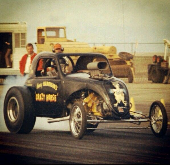 vintage dirt track car racing 60-70s Vintage Oval