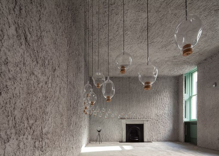 Antonino Cardillo uses volcanic ash for Illuminum interior