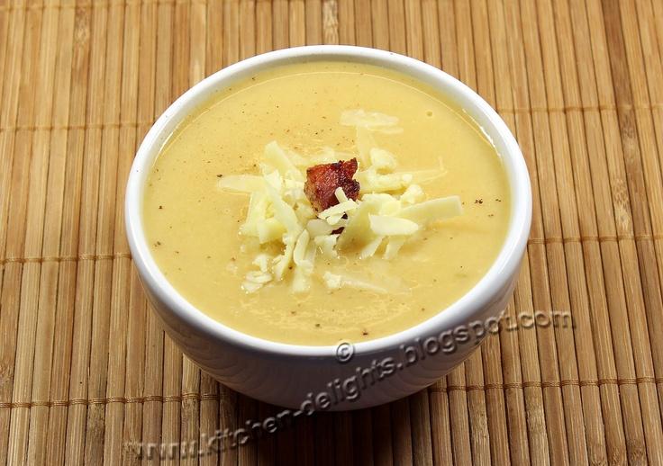 Kitchen Delights: Jamie Oliver's Cauliflower Cheese Soup