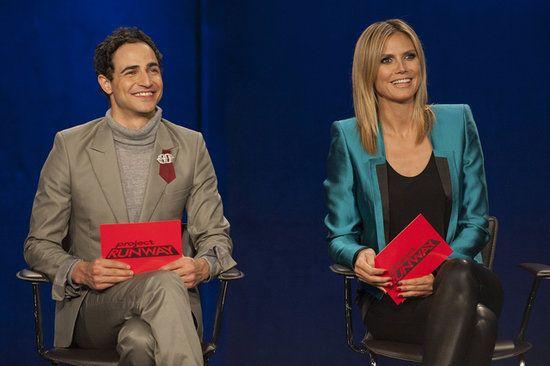 """It's Fashiontainment!"" Zac Posen and Heidi Klum Spill Project Runway Secrets"
