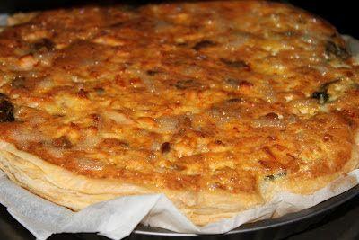 o bolo da tia Rosa: quiche de salmão com espinafres e sorrel