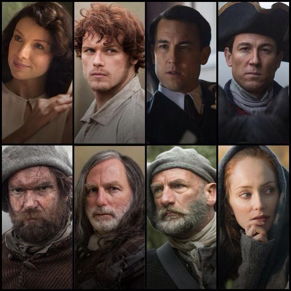 204 best outlander images on pinterest outlander casting