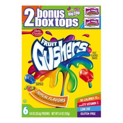 Gushers Tropical 5.4Oz