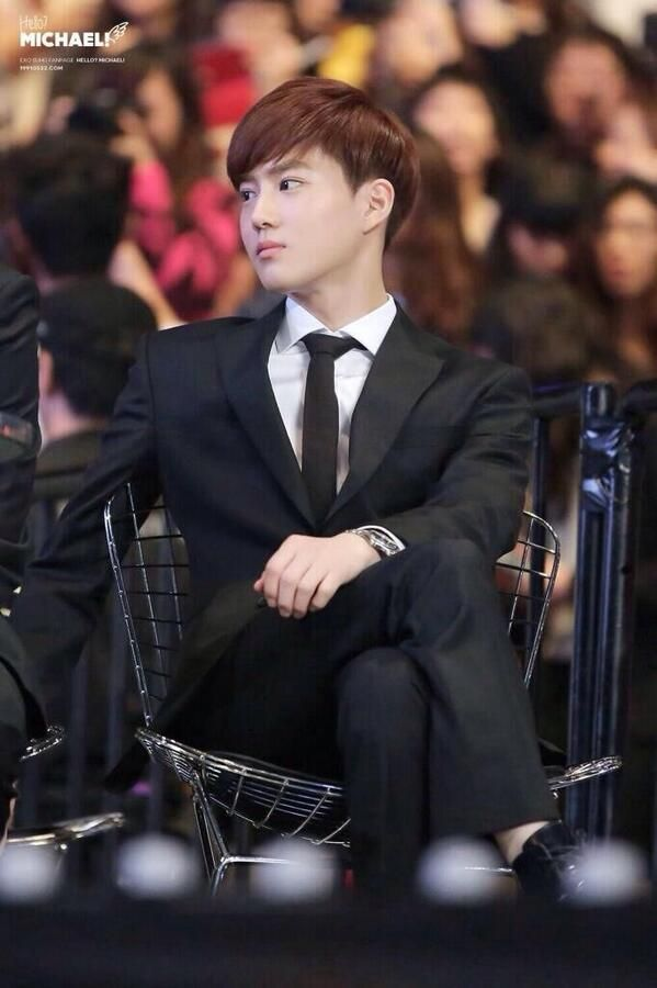 He look so rich and perfect!!  #Suho #EXO