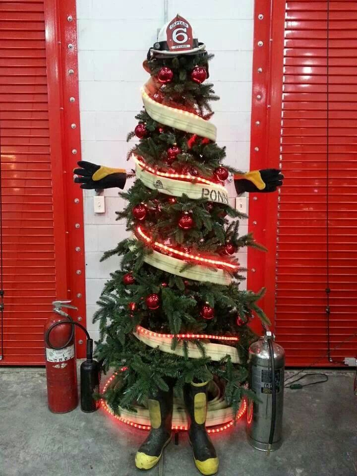 Fire tree.  Found my tree for this year.  I wonder if it would look good with my tinsel tree.