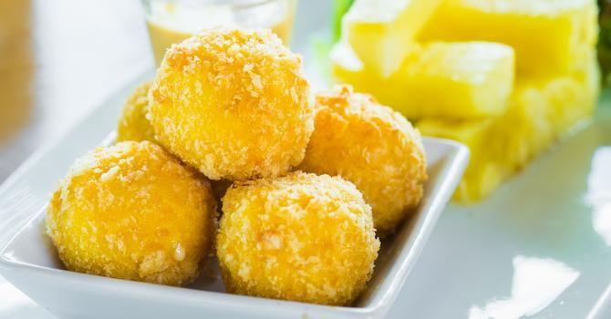 Recette de Croquettes de gruyère léger sans friteuse. Facile et rapide à réaliser, goûteuse et diététique. Ingrédients, préparation et recettes associées.
