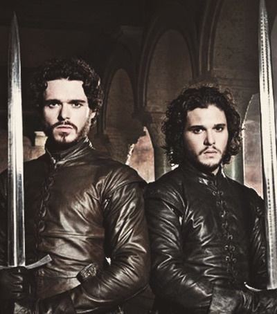 I can't wait for my date with Jon and Robb tomorrow! Get excited for GoT season three people!!!