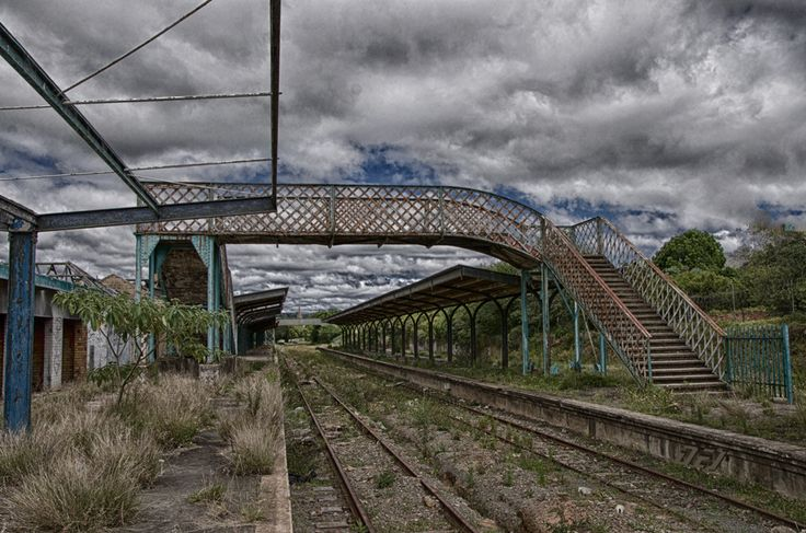 Abandond train station, South Africa, Grahamstown