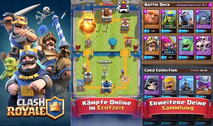 Will die App Clash Royale nun ein Sammelkartenspiel, ein Echtzeitstrategiespiel oder Tower Defense sein? In diesem spaßigen Spiel für iOS und Android ist das Genre völlig egal, denn die Entwickler von Supercell haben einen tollen Genre-Spagat hinbekommen.