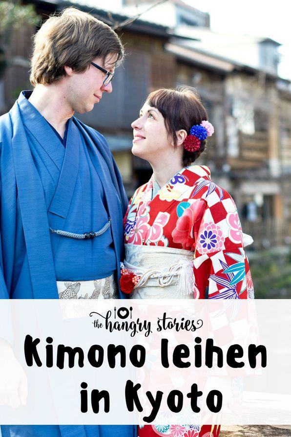 Für einen Tag einen #Kimono leihen und durch Kyoto Arashiyama ziehen