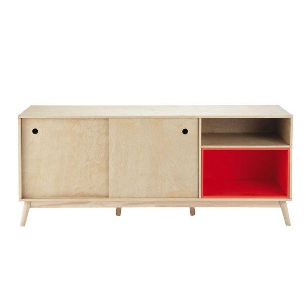 Buffet vintage en bois L 170 cm - Dekale