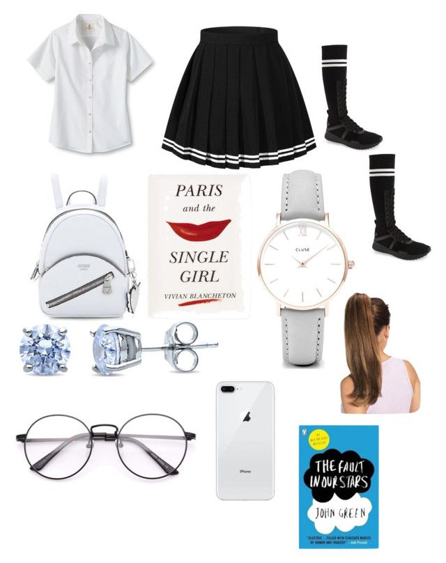 """""""My uniform 💕💕💕💕💕💕"""" by khausar26 on Polyvore featuring Lands' End, Puma, BERRICLE, CLUSE, Kate Spade, makeup, jewellery, polyvorecommunity, wristwatch and polyPresents"""
