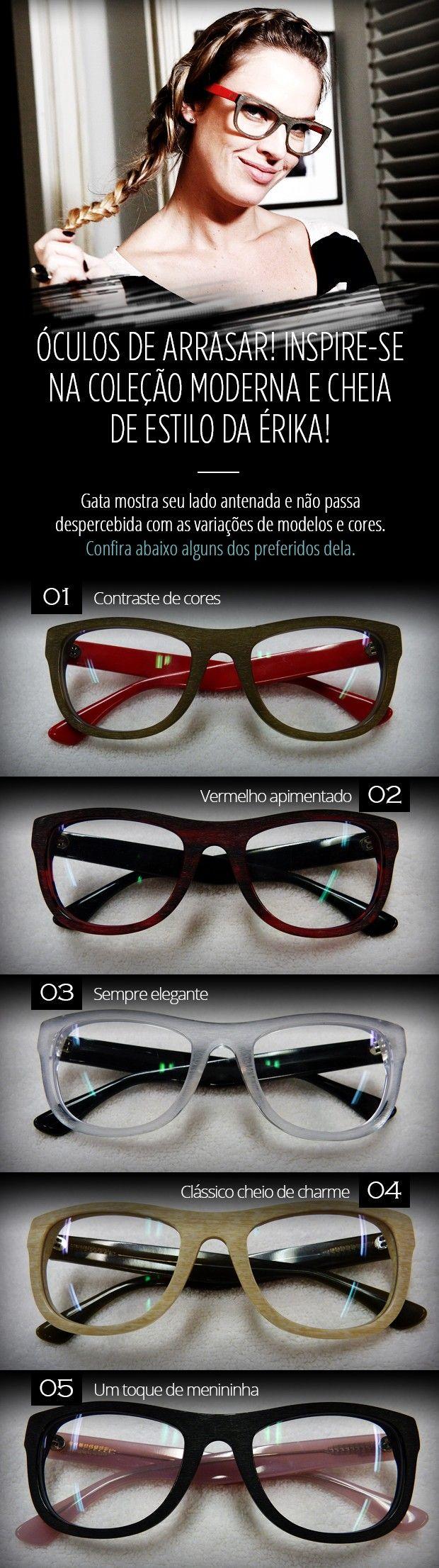 Todo mundo quer! Letícia Birkheuer comemora sucesso dos óculos da Érika ♥