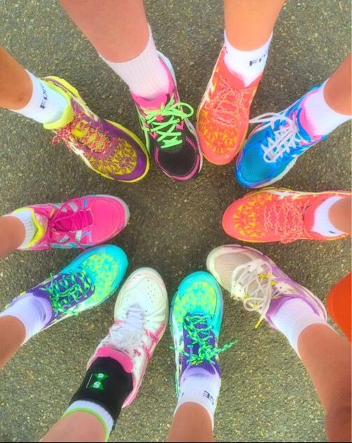 Our netball shoes are on fleek