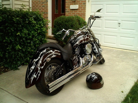 Best V Star Classic Images On Pinterest Custom - Classic motorcycle custom stickers