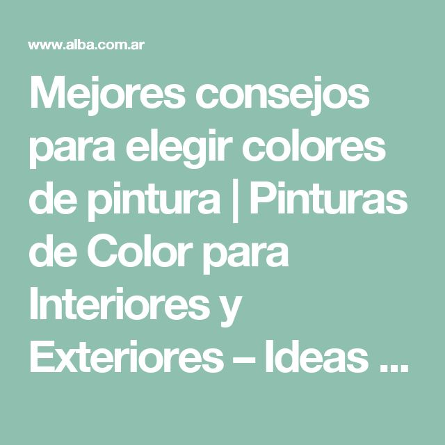 25 best ideas about colores para exteriores on pinterest - Colores calidos para interiores ...