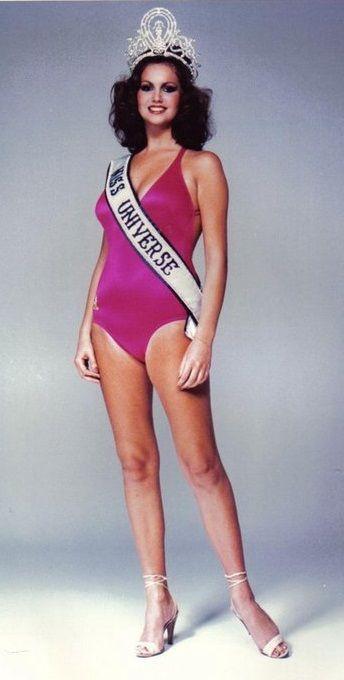 Miss Universo 1978 - Margaret Gardner - Africa do Sul