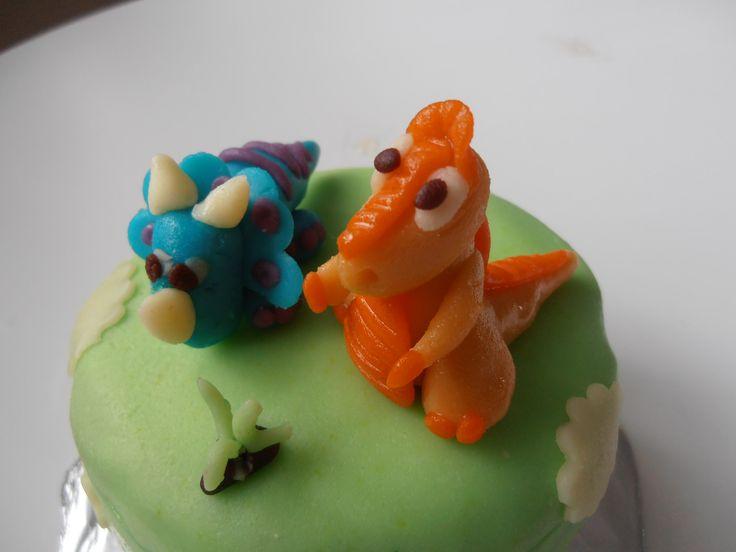 dinosauři cake
