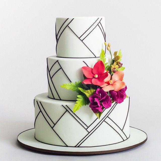 Modern Wedding Cakes: Best 25+ Modern Cakes Ideas On Pinterest