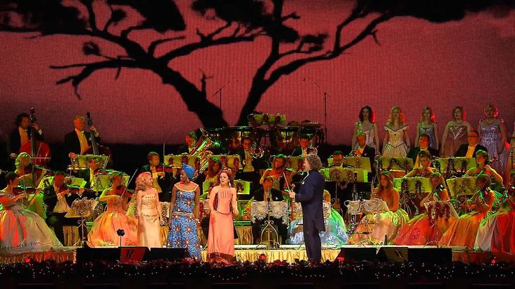 This is a Tribute to Nelson Mandela by soloist Kimmy Skota, Andre Rieu and Johann Strauss Orchestra.