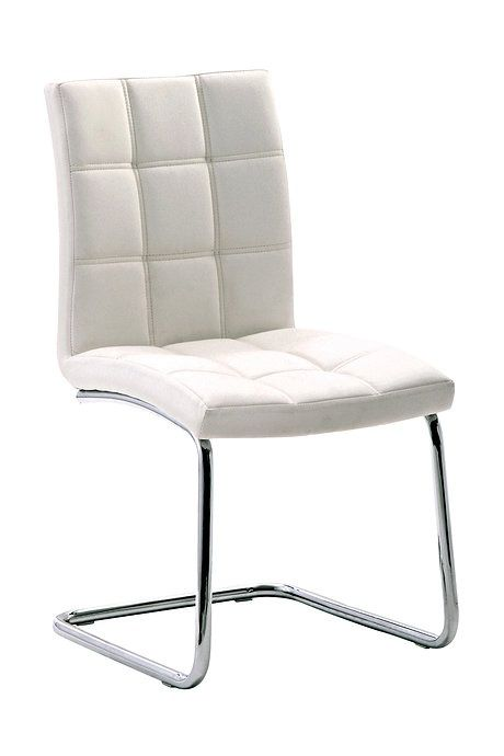 White CANNES Chair  / Product available on e-HomeLovers.pl