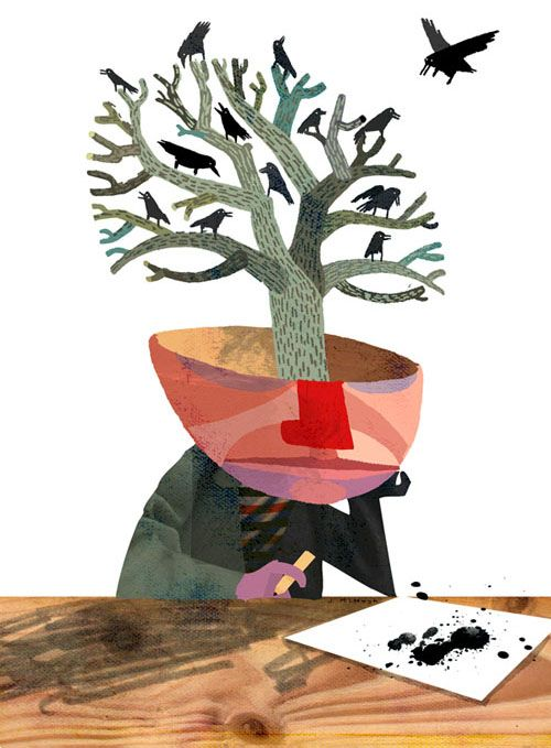 beePencil - Jonathan McHugh Illustration