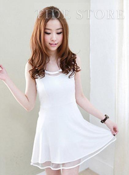 Delicate Split Joint Mesh Stratified Western Style Dress woman,fashion,cheap,