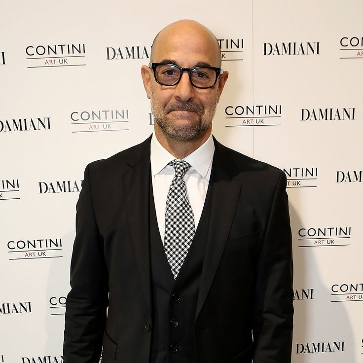 Stanley Tucci at the Contini art gallery in London