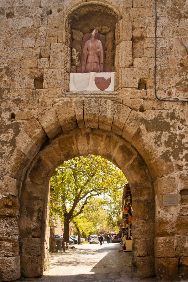 St Anthony's Gate, Rhodes Greece