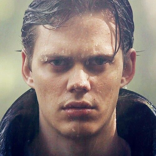 Bill Skarsgard - not sure what it is. The lips, the cute button nose, the smoky, intense eyes?