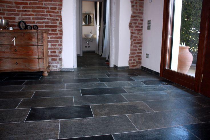 Indian polished stone floor