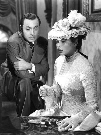"Ingrid Bergman and Charles Boyer, ""Gaslight"""