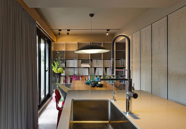 Taipei Apartment Becomes a Design Studio