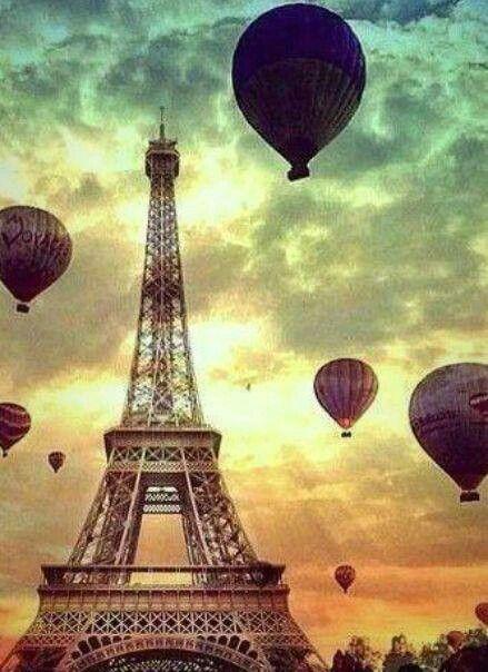 On rêve de toi, Paris.
