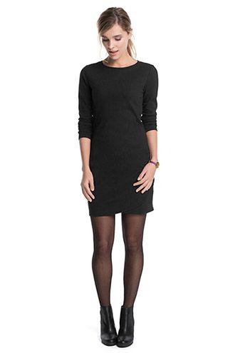 EDC / Fijn gestructureerde jurk