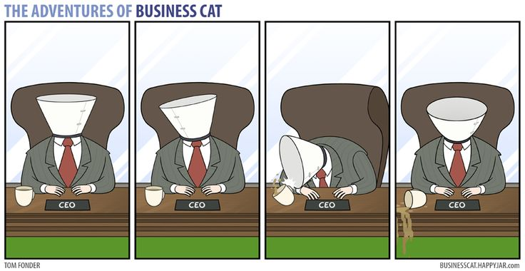 The Adventures of Business Cat | Cone