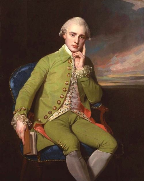 Portrait of a Gentleman, said to be Earl Grey - George Romney.